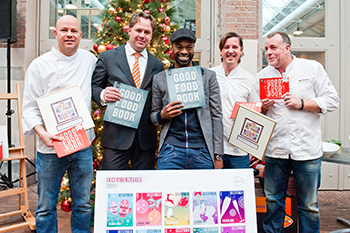 Topkoks presenteren Good Food Book en Decemberzegels