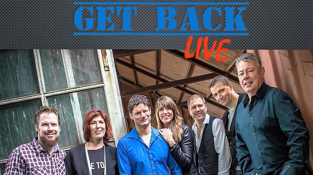 Get Back Live terug in het Jozef gebouw te Volendam op 14 november 2015